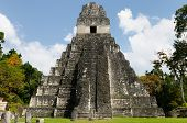 Постер, плакат: Guatemala Tikal Mayan Ruins