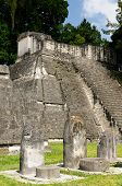 Постер, плакат: Copan Mayan Ruins In Guatemala