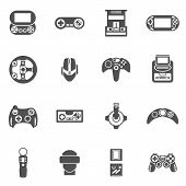 Постер, плакат: Video Game Icons Set