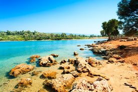 picture of cleopatra  - coastal landscape on Cleopatra - JPG
