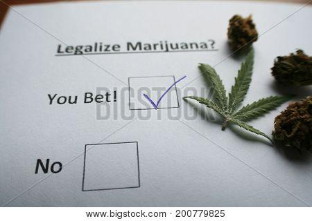 Legalize Marijuana With