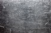 Rough Metal Texture, Gray Steel Or Cast Iron Surface poster