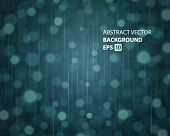 Abstraction light and rain vector background. Eps 10.