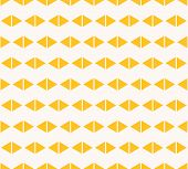 Vector Geometric Seamless Pattern. Vector Abstract Minimalist Texture. Graphic Background In Yellow  poster