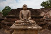 Polonnaruwa - The Ruins Of An Ancient Temple, Traces Of An Ancient Highly Developed Civilization. Sr poster