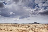 stock photo of semi-arid  - Landscape of typical Karoo scenery - JPG