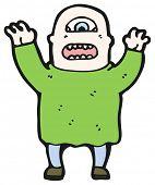 image of ogre  - cartoon ogre - JPG