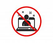 No Or Stop. Best Manager Icon. Business Management Sign. Agent Symbol. Prohibited Ban Stop Symbol. N poster