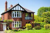 foto of english cottage garden  - English house - JPG