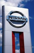 Nissan Car Dealership Sign