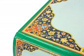 Details Of An Islamic Book Cover Ornament