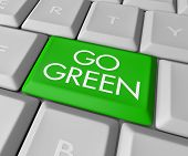 Go Green Computer Key