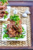 image of patty-cake  - Fried Fish Cakes Thai Food - JPG