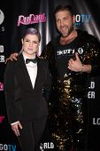 LOS ANGELES - FEB 17:  Kelly Osbourne, Johnny Scruff at the