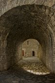 picture of underpass  - underpass on the streets of a town - JPG