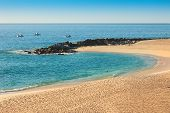 picture of cortez  - Sea of Cortez and beach on Cabo San Lucas Mexico - JPG