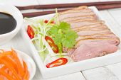 pic of duck breast  - Tea Smoked Duck  - JPG