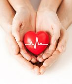 stock photo of beating-heart  - health - JPG