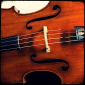 image of double-bass  - Close - JPG