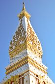 foto of rn  - Wat Phra That in Nakhonphanom provincenortheaste rn of Thailand - JPG
