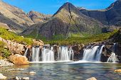 stock photo of breathtaking  - The beautiful Fairy Pools on the Isle of Skye - JPG