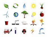stock photo of masker  - environmental icon collection - JPG