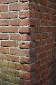 stock photo of cornerstone  - Corner of a wall - JPG