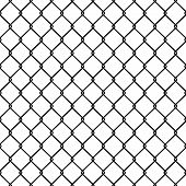 picture of octagon shape  - Steel Wire Mesh Seamless Background - JPG