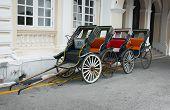 pic of rickshaw  - Four classic old - JPG