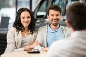 image of rental agreement  - Some paperwork before buying a car - JPG
