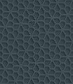 image of paper cut out  - Dark gray perforated paper with cut out effect - JPG