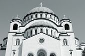 picture of neo  - Cathedral in Belgrade Serbia  - JPG