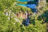 pic of breathtaking  - Breathtaking view in the Plitvice Lakes National Park  - JPG