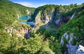 image of breathtaking  - Breathtaking view in the Plitvice Lakes National Park  - JPG