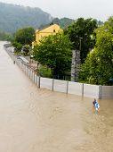 foto of flood  - floods 2013 - JPG