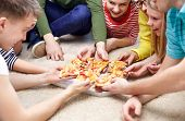 picture of teenagers  - food - JPG