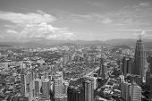foto of klcc  - City skyline panorama in Kuala Lumpur - JPG