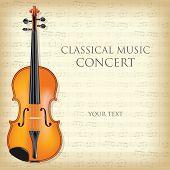 Постер, плакат: Classical Music Concert