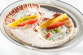 foto of scallops  - scallops on the party table - JPG