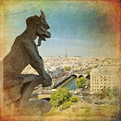 picture of demons  - Notre Dame of Paris - JPG