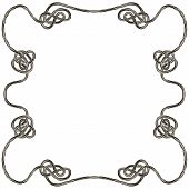 image of celtic  - Rope with celtic knot frame for your text EPS8  - JPG