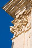 stock photo of pilaster  - Basilica church of St - JPG