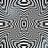 pic of distort  - Abstract checkered background with strong distortion effect - JPG