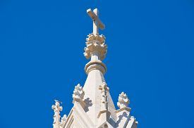 stock photo of calvary  - Image of the Calvary Church of Molfetta - JPG