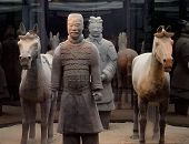 picture of qin dynasty  - Terracotta Warriors and Horses of the Qin Dynasty - JPG