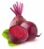 Isolated Beetroots poster