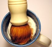 Shaving Brush And Mug