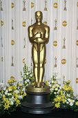 LOS ANGELES - 24 februari: Oscar standbeeld in de press room op de Oscars gehouden in het Kodak Theater in Los