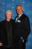 LOS ANGELES - JUN 17: Susan Flannery, John McCook in the Press Area at the 38th Annual Daytime Creat