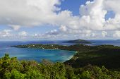 View of Magens Bay on St Thomas, USVI